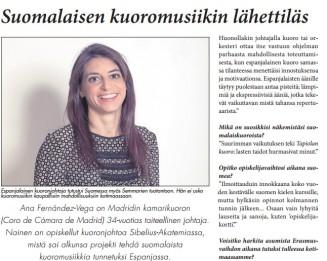 Espanjan Sanomat, Noviembre de 2012